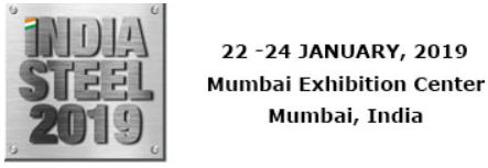 2019年印度国际钢铁展-展会logo