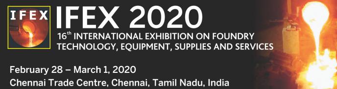 2020年印度第16����H�T造展IFEX 2020