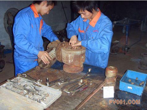 修理各種常用老舊水泵、閥門的方式方法-中國泵閥第一網