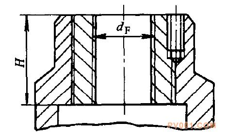 图5一2一36梯形螺纹部结构