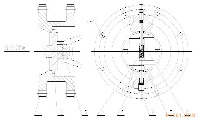 蝶式止回閥的用處結構及安裝說明-中國泵閥第一網