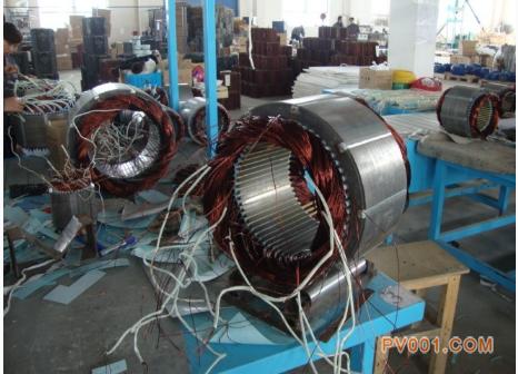 """1200千瓦苏联产""""老古董""""直流电机在市一电机重获新生图片"""