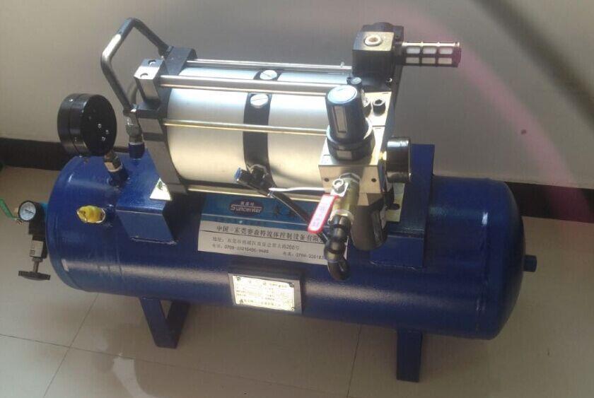 气动增压泵压力达不到是什么故障?