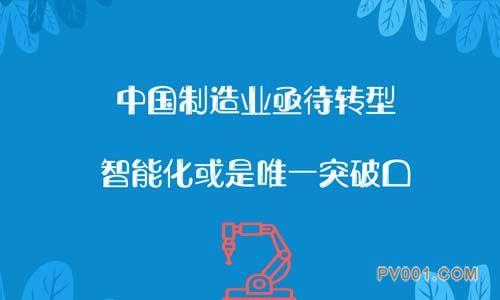 中国制造业亟待转型,智能化或是唯一突破口