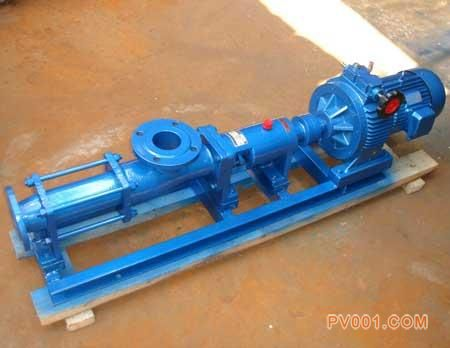 单螺杆泵的工作道理,单螺杆泵常见故障