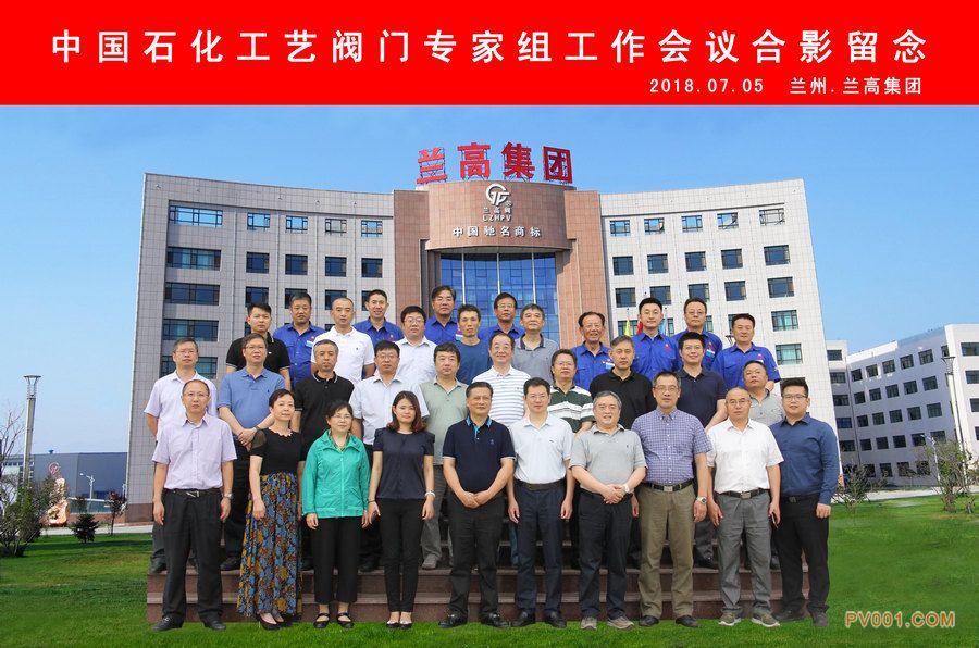 中国石化工艺阀门专家组工作会议合影留念