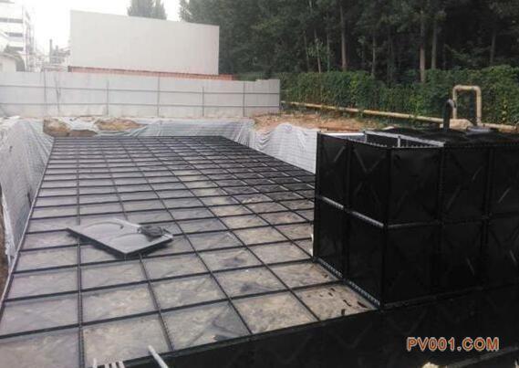 介绍:抗浮地埋式箱泵一体化恒压给水设备一体化泵站2