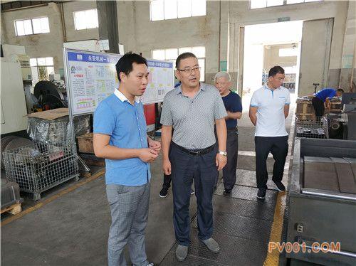 温州泵阀工程研究院走访浙江永安智能装备、三凯机械