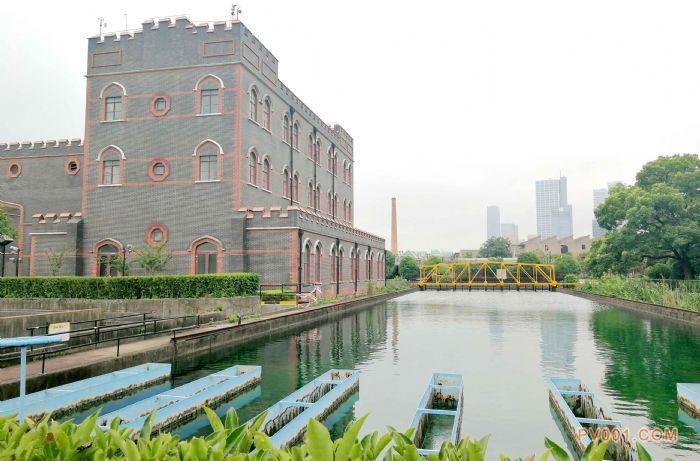 杨树浦水厂现存老建筑由J.W.哈特设计
