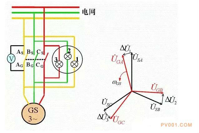 电机星三角降压接线方法