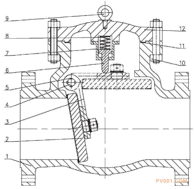 止回阀 水泵 针型阀 液压缸 阀瓣