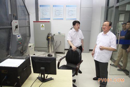 中国钢研科技集团有限公司王海舟院士到合肥通用机械研究院交流指导