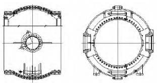 图4 阀体结构简图4