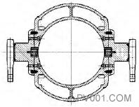 图7 活门/阀轴结构简图2