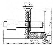 图9 工作密封结构简图1