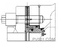 图10 工作密封结构简图2