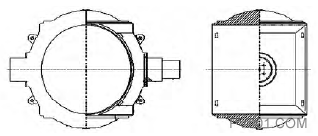 图6 活门/阀轴结构简图1