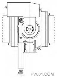 图15 操作机构结构简图1