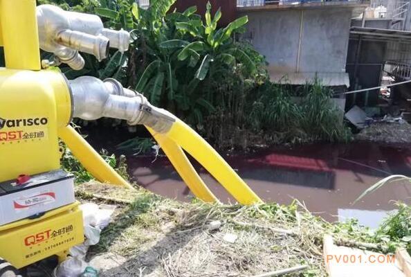 阿特拉斯・科普柯排水泵参与汕头内涝排水抢险作业2