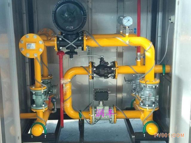 燃气调压柜与传统调压站的区别