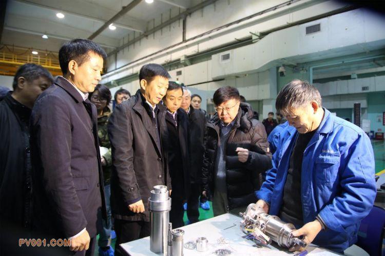 陝西省副省長趙剛、徐啟方到秦川機床工具團體調研