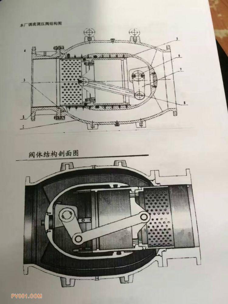 智能一体化电动调流调压阀结构特点