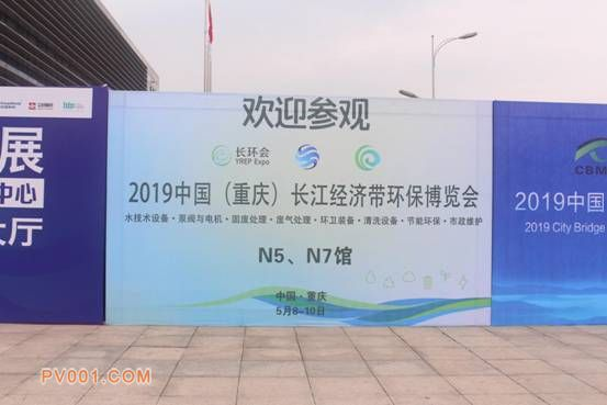 重庆市常务副市长吴存荣巡视2019中国(重庆)长江经济带环保博览会4