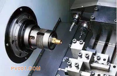 数控车床加工的工艺,连续主动加工完成所有车削工序