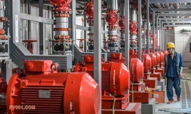 格兰富产品用于消防泵房