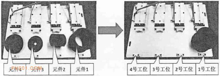 电机模型元件装配图