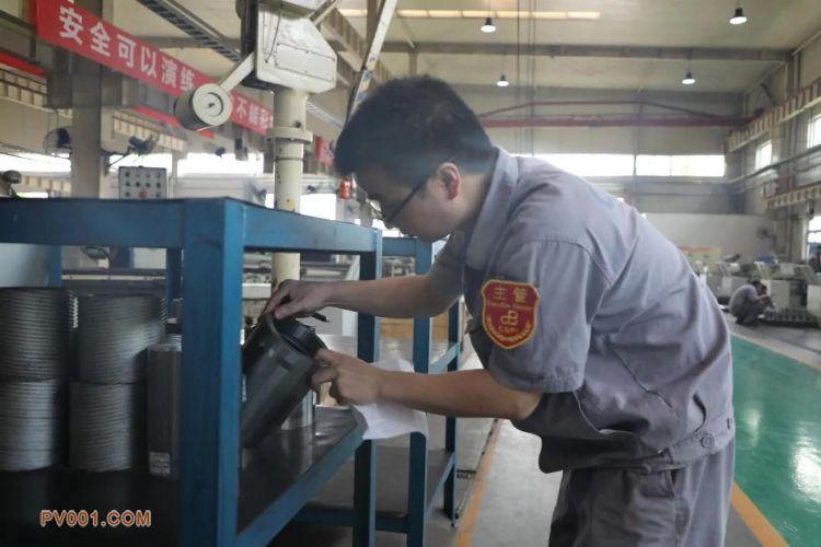 重庆水泵公司车间现场推行区域管理效果显著
