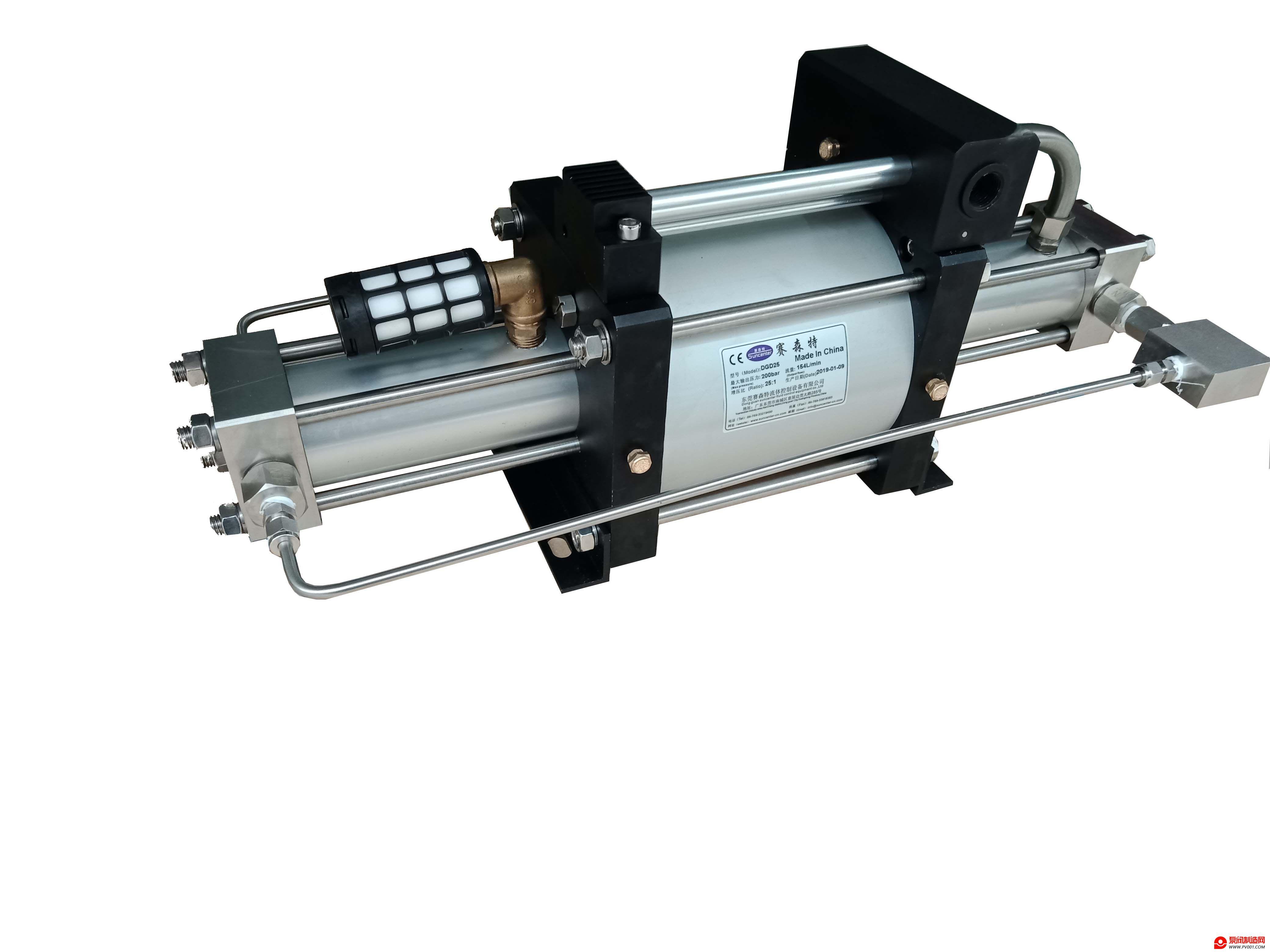氮气小车所用的氮气增压泵怎么进行选型?