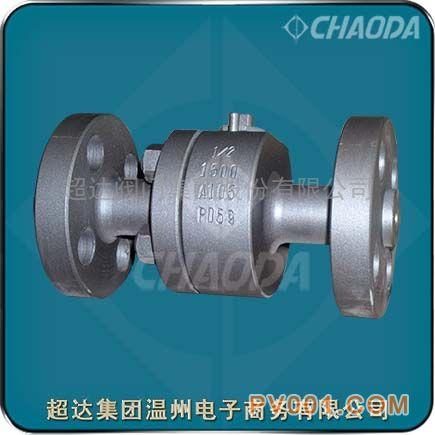 供应锻钢浮动球阀 锻钢硬密封浮动球阀-图