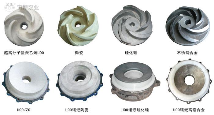 UT型防腐耐磨冶炼专用泵耐磨材料