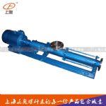 上海正奥牌G40-1型轴不锈钢螺杆泵 厂家直销铸铁螺杆泵