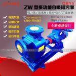 供应上海40ZW15-30普通型铸铁自吸排污泵 自吸污水泵