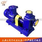 供应上海40ZW15-30P防爆不锈钢自吸排污泵 自吸污水泵