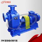 100ZW100-15普通型铸铁自吸式排污泵生产直销厂家