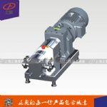 上海正奥RP-2型不锈钢转子泵 果汁酸奶泵 高粘度转子泵
