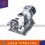 上海正奥RP-3型不锈钢转子泵 果汁酸奶泵 高粘度转子泵