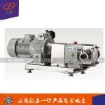 上海正奥RP-5型不锈钢转子泵 果汁酸奶泵 高粘度转子泵