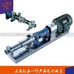 G35-2型304不锈钢卫生级单螺杆泵 厂家直销正品保障