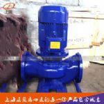 上海正奥ISG50-125型立式管道离心泵循环水泵工业泵