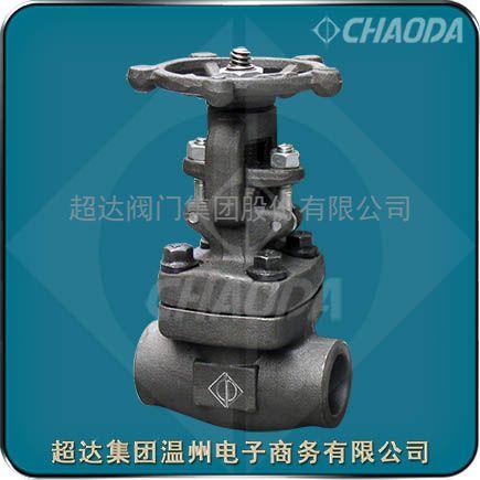 供应承插焊连接锻钢闸阀-图