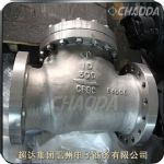 铸钢低温旋启式止回阀