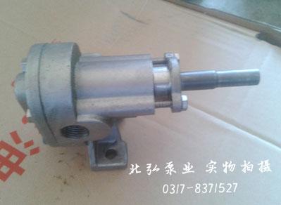 小流量圆弧齿轮泵