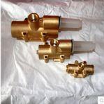 正品气动隔膜泵配气阀/QBY气动隔膜泵配件/