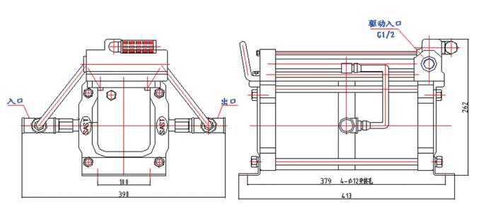 DGS-DGV02空气增压泵系统_空气增压系统品牌_东莞赛森特气泵厂家