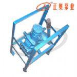正奥泵业ZH-100A型铸铁手摇计量加油泵