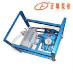 正奥泵业JB-70型手摇、电动二用铸铁计量加油泵